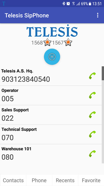 SipPhone – Telesis Telecommunication Systems
